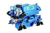 Дизельный двигатель Sole Mini 44 с гидравлическим редуктором Technodrive TM345, R=2,47:1