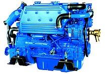 Дизельный двигатель Sole Mini 74 с редуктором Technodrive TM 345, R=2,00:1