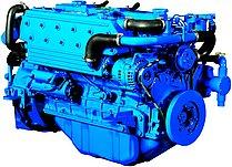 Двигатель Sole Diesel SM-105, 6 цидиндров, 95 л.с., с редуктором Technodrive TM93, R=2,40:1