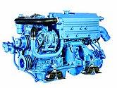 Двигатель Sole Diesel SN-110, 4 цидиндра, 103 л.с., с редуктором Technodrive TM93, R=2,77:1