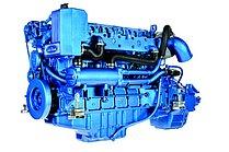 Двигатель Sole Diesel SDZ 205, 6 цидиндров, 197 л.с., с редуктором Technodrive TM170A, R=2,08 :1