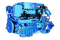 Двигатель Sole Diesel SDZ 280, 6 цидиндров, 272 л.с., с редуктором Technodrive TM265A R=2,30 :1