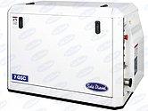 Дизель-генератор Sole Diesel 7 GSC в капоте, 6 кВт, 1ф