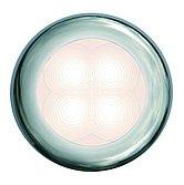 Светодиодная лампа освещения подножки Hella Slim Line ROUND, Ø 72 мм, белый