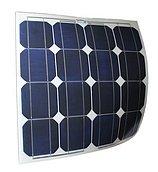 Солнечная батарея, 40W-B, временный монтаж, с крпежными втулками
