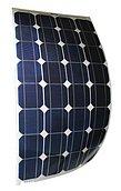 Солнечная батарея, 80W, временный монтаж, с крепежными втулками