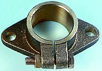 Регулируемый монтажный фланец для дейдвудной трубы,Ø40 мм (как Ø25 мм)