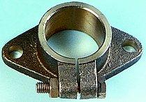 Регулируемый монтажный фланец для дейдвудной трубы,Ø50 мм (как Ø35 мм)
