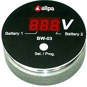 Контроллер заряда аккумулятора BW-03, красный