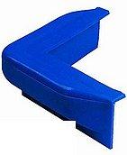 Причальный кранец, угловой Jetty Fender - 90°, 60 x 500mm, синий