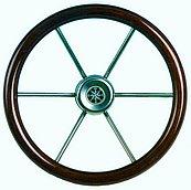Рулевое колесо Leader wood (тик), Ø 360 мм