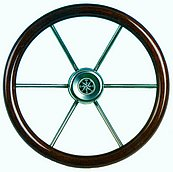 Рулевое колесо Leader wood, Ø 360 мм
