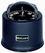 "Компас Ritchie Globemaster D-615-B с креплением на нактоузе 6"", с кожухом"