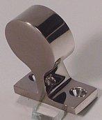 Стойка для поручней с глухим отверстием 120°, (22 мм)