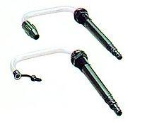 Телескопический поворачивающийся кран с пробкой