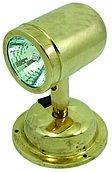 Регулируемый галогенный светильник направленного света, латунь