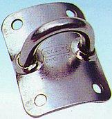 Серьга с вогнутым основанием, 39 x 51 мм
