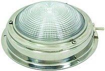 Накладной светильник с рифленым рассеивателем 4 дюйма, нержавеющая сталь