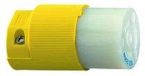 Заменяемый наконечник замкового соединителя желтого цвета, 16 A/240 В - IP20