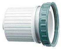 Белая крышка Seal-Tite® с резьбовым уплотнительным кольцом