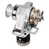 Лебедка Kobra, 24 В / 1000 Вт, с барабаном, цепь 10мм, ISO 4565 (алюминий)