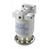 Сепаратор/фильтр топливный с насосом, CE/ABYC, одиночный, 10 микрон, макс. 190 л/час
