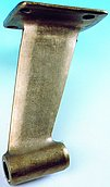 Кронштейн гребного вала с монтажным фланцем, для вала Ø 40 мм