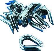Коуш из нержавеющей стали, Ø 3 мм