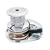 Лебедка X3, 12 В / 1700 Вт, с барабаном, цепь 10мм, ISO 4565 (бронза)