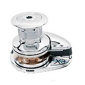 Лебедка X3, 12 В / 1700 Вт, с барабаном, цепь 12мм, ISO 4565 / 13мм, DIN 766 (алюминий)