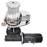 Лебедка X4, 24 В / 2300 Вт, с барабаном, цепь 12мм, ISO 4565 (бронза) CCW
