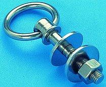 Рым-болт с ушком со съемным кольцом, 10 х 55 мм