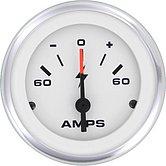 """Амперметр Lido-Pro 0-60 А, Ø 2"""" (51 мм), белый"""