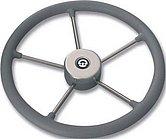 Руль VR01 серый, o 325 мм