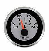 """Указатель температуры воды Argent-Pro (120-240 °F) 240-33 Ом, Ø 2"""" (51 мм), белый"""