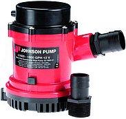 Трюмная помпа Johnson pump L1600 со съемным обратным клапаном, 12В, 100 л/мин