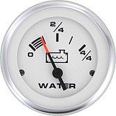 """Указатель цистерны с водой Lido-Pro 10-180 Ом, Ø 2"""" (51 мм), белый"""