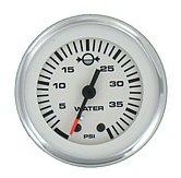 """Указатель давления воды Lido-Pro подвесной, 0-40 PSI, Ø 2"""" (51 мм), белый"""