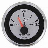 """Указатель температуры воды Argent-Pro (40-120 °C) 240-33 Ом, Ø 2"""" (51 мм), белый"""