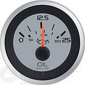 """Указатель давления в трансмиссии Argent-Pro (0-350 PSI / 25 бар) 10-180 Ом, Ø 2"""" (51 мм), белый"""