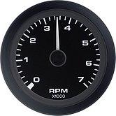 """Тахометр с одометром Premier-Pro 0-7000 об/мин., Ø 3"""" (76 мм), черный"""