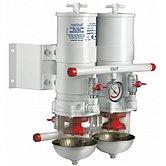 Сепаратор/фильтр топливный, CE/ABYC, 2 в ряд, 30 микрон, макс. 12 л/мин