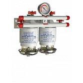 Сепаратор/фильтр топливный CE/ABYC, двойной, 10 микрон, макс. 190 л/час