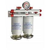 Сепаратор/фильтр топливный CE/ABYC, двойной, 10 микрон, макс. 380 л/час