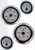 """Мульти-указатель Argent-Pro (скорость / температура / давление масла), Ø 5"""" (127 мм), белый"""
