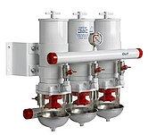 Сепаратор/фильтр топливный CE/ABYC, 3 в ряд, 30 микрон, макс. 24 л/мин