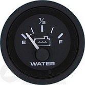 """Указатель цистерны с водой Premier-Pro 10-180 Ом, Ø 2"""" (51 мм), черный"""