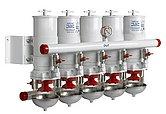 Сепаратор/фильтр топливный CE/ABYC, 5 в ряд, 30 микрон, макс. 48 л/мин