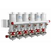 Сепаратор/фильтр топливный CE/ABYC, 6 в ряд, 30 микрон, макс. 60 л/мин