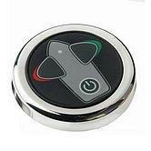 Панель управления кнопочная, с задержкой времени, алюминий, Ø 52 мм, 12/24 В